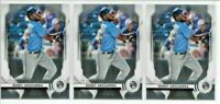 2020 Bowman Sterling RANDY AROZARENA Chrome ROOKIE LOT (x3) Rays RC #71