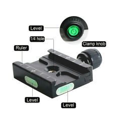 Quick Release QR60 Camera Plate Clamp Adapter For Arca Swiss Tripod Ball Head