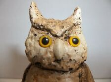 Vintage Resin OWL Figurine 3.25""