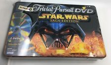 NEW Trivial Pursuit DVD Star Wars SAGA EDITION - Toys R Us Exclusive Metal Tin