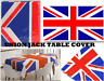 Union Jack Flag Table Cover Table Cloth Party Catering Events Tableware Plastic