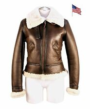Blouson Bombardier B3 Femme COCKPIT USA Ex Avirex MADE IN USA