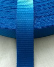 NEW 5M BLUE 25MM WEBBING TIE DOWN*LEADS*LASHING*DIY*CRAFTING1.2 TON GARDNENING
