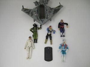 Lot of Vintage GI JOE Figures and Plane GI-487