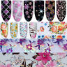 Nail Foils Transfer Stickers Decals Holographicssssssss Nail Art  Paper
