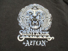 "CARLOS SANTANA de AZTLAN ""MUSIC FROM THE HEART"" CREW Concert Tour (MED) T-Shirt"