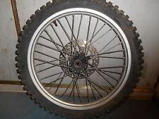Vintage AHRMA MX 1986 KTM 500 EXC MX MXC XC Front Wheel Rim Disc