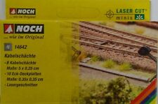NOCH 14642 Cable Ducts (Laser Cut kit) 'N' Gauge Model Railway