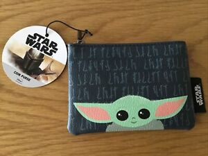 Disney Star Wars The Mandalorian Baby Yoda The Child Coin Purse - New With Tags