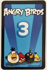 +Angry Birds Game Knock on Wood 10 Blue Mission Cards Replacement Parts Pieces