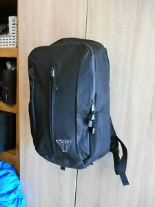 Triumph motorcycle rucksack with waterproof cover