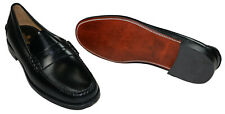 Sebago Genuine Leather Dan Men's Slip On Loafer Dress Shoes Size 13 W NIB Black