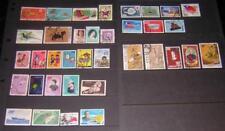 China Republic 1960//1971 hi val selection 36 diff stamps cv $59
