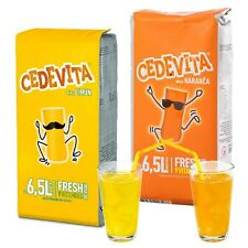 CEDEVITA Croatian Vitamin Drink Powder Mix Orange 500 g, Lemon 500 g