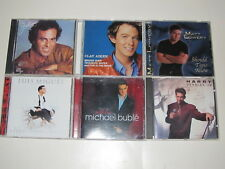 Contemporary Crooners - Lot of 6 CDs by Popular Singers