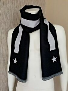 GIVENCHY REVERSIBLE STARS & STRIPE SCARF MADE IN ITALY RETAIL