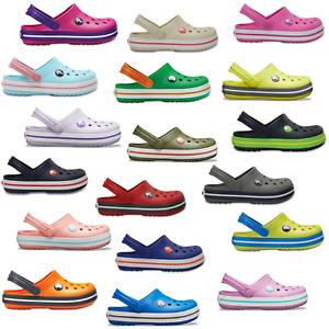 Crocs Crocband Kinder Schuhe Clogs Pantolette Sandale Hausschuhe Badeschuhe