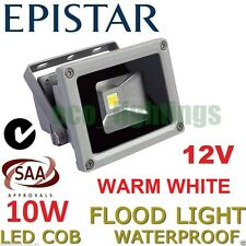 LED 10W FLOOD OUTDOOR WASH LIGHT WATERPROOF COB HIGH POWER FLOODLIGHT WARM 12V