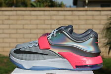 NIKE KD VII AS SZ 11 ALL STAR 2015 PURE PLATINUM KEVIN DURANT ASG 7 742548 090
