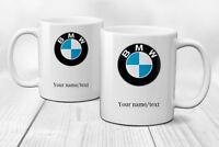 Personalised BMW Logo Mug Cup Gift Coffee Tea Cars - Ceramic 320ml