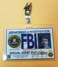 Hannibal TV Show ID Badge - Will Graham cosplay costume prop