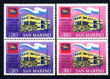 SAN MARINO - 1971 - Congresso dell'Unione Stampa Filatelica - 20 e 180 lire
