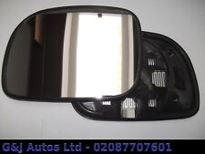 (A98) CHRYSLER GRAND VOYAGER PASSENGER SIDE LHS HEATED DOOR MIRROR GLASS