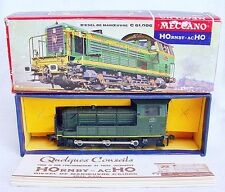 Hornby Meccano France HO SNCF C 61.006 French SHUNTER LOCOMOTIVE #6350 NMIB`68!