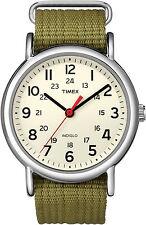 T2N651 Timex Weekender watch Olive Green new Mens Ladies womens unisex T2N6519J