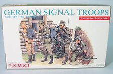 1/35~  German Signal Troops~  39-45 Series~DRAGON Infantry Model