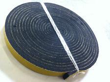 30x5mm 2 Meter Streifen aus Moosgummi Zellkautschuk EPDM selbstklebend