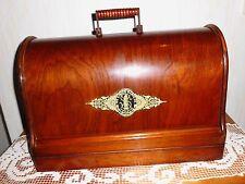 Alte Singer Nähmaschine mit Koffer * Tischnähmaschine * Handkurbel * M1602950