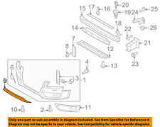 AUDI OEM 08-12 S5 Front Bumper Grille Grill-Lower Trim 8T08077172ZZ