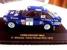 Ford Escort MKII MIKKOLA  1er RAC 1979 IXO RAC0041/43