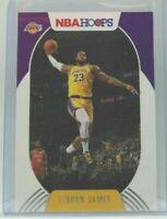 Lebron James 2020-21 20-21 NBA Hoops Base Los Angeles Lakers #146 mint hot $$$$$