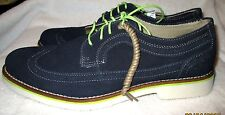 NICE - *CHAPS*  Men's Navy BLue Suede Leather Lace Up Oxford Shoes, 9M