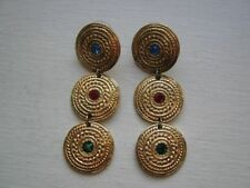 Alloy White Gold Plated Drop/Dangle Costume Earrings