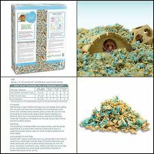 Complete Natural Paper Bedding For Hamster Blue Rabbit Gerbil GuineaPig 69.4 L