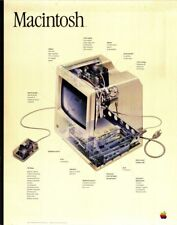 APPLE COMPUTERS POSTER VINTAGE RETRO SILICON VALLEY |24 inch by 36 inch| C