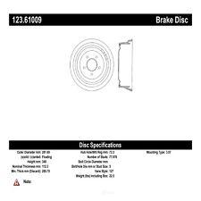 Brake Drum fits 1973-1978 Mercury Marquis Grand Marquis Montego  C-TEK BY CENTRI