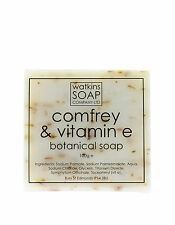 Comfrey & Vitamin E Oil Aromatherapy Soap - SLS Free Exfoliate 100g Bar