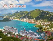 ST. THOMAS - Travel Souvenir Magnet