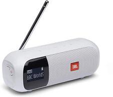 Commerciante JBL Tuner 2 Radio in Bianco – portatile Bluetooth Altoparlante