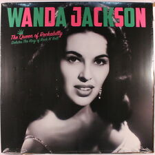 WANDA JACKSON: The Queen Of Rockabilly Salutes The King Of Rock N' Roll LP