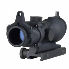 Tactical Illumination ACOG Style 1x32 Red/Green Dot Rifle Sight Scope Airsoft