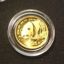 1987-S~~1/4 OZ PROOF GOLD PANDA~~BEAUTY IN AIR-TITE