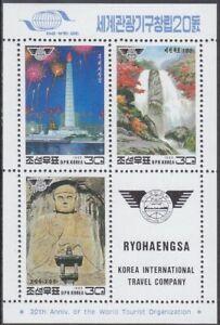 Korea (N) - 1995 - MNH - (MS 3687-3689) Tourism