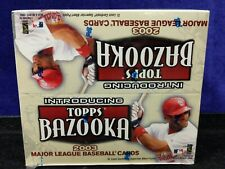 1X Factory Sealed 2003 Topps Bazooka 24 Pack Baseball Box,MLB, Stamps, Stand-ups