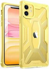 Poetic Premium Hybrid Protective Clear Bumper Cover, Rugged Lightweight, Militar