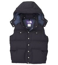 NWT THE NORTH FACE PURPLE LABEL 65/35 HOODED SIERRA DOWN VEST RARE MSRP $470 M